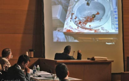 Prosecutors present grisly pictures