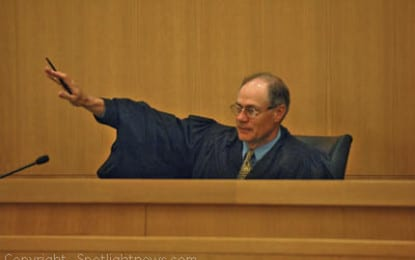 Out of area judge assigned to murder case