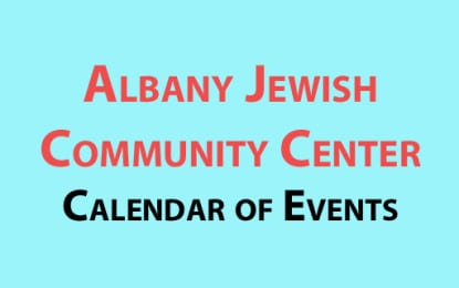Albany Jewish Community Center October events