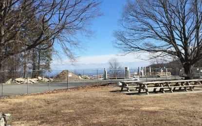 Construction begins at Thacher Park