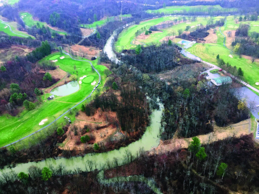 Albany plans to sue Bethlehem and Normanside Country Club as landslide continues to wreak havoc a year after it occurred