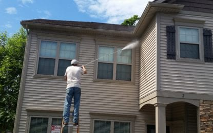 Service Solutions offers multiple options: Pressure washing is just one of many cleaning techniques company provides