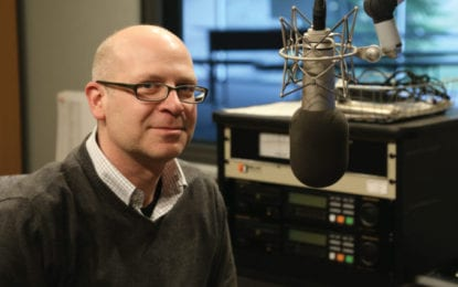 Meet Rob Brown, WMHT-FM radio program director