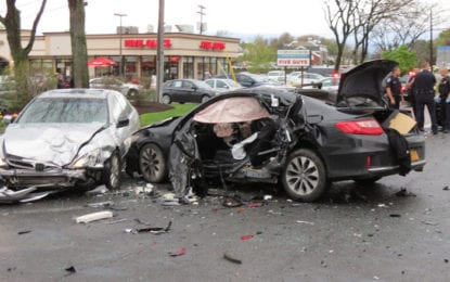 Police: Driver was involved in two accidents on Route 9 in Colonie