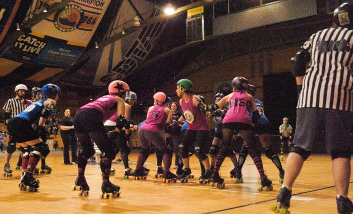 Albany All Stars roller derby team opens 10th season at the new Albany Capital Center
