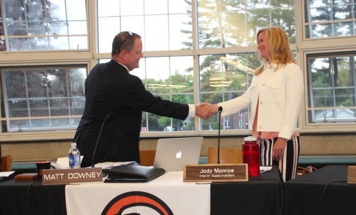 Jody Monroe sworn in as superintendent: Bethlehem Central School District Board of Education members vote unanimously to approve appointment