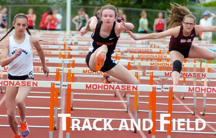 Girls track and field: Samantha Gifford wins triple jump title at Suburban Council meet