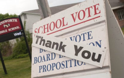 Schools give thanks: Voters across the Capital District gave their collective approval on local public school budgets