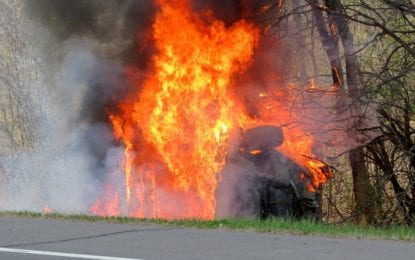 Fiery Delmar Bypass crash; Residents saved by passing travelers