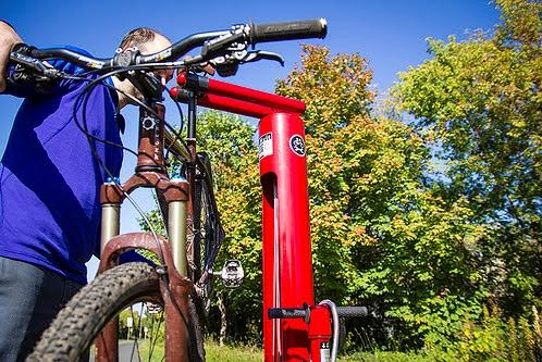 New Bike Fix-It Stations at Albany Public Library Branches | Kick-Off Bike Ride 5/13