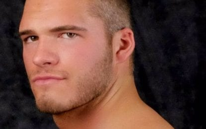Wrestling his way to the top: Zack Carpinello — a.k.a. Zack Clayton — seeks a WWE career