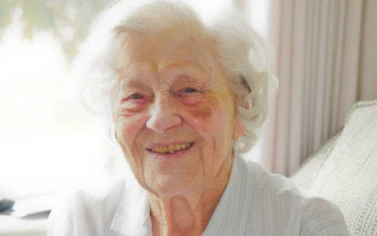 Delmar woman turns 105 years old: Alice Baker credits her longevity to tea, genes and activity