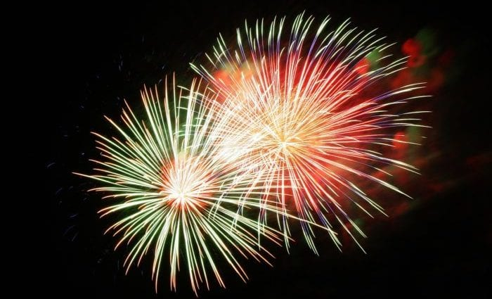 Where to find firework shows this weekend