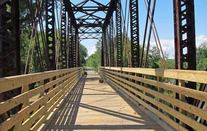 Cancer crusher: The newly opened Rail Trail plays host to a charity run benefiting a local cancer fighter