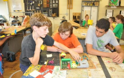 STEM camp lets kids become inventors for a week