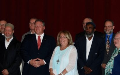County Exec announces interfaith coalition in response to national violence