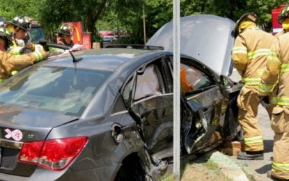 Glenmont crash sends one person to the hospital