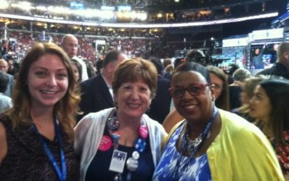 Albany County represented at DNC