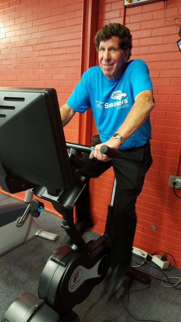 Alan Lobel up for national fitness award: Delmar resident who has cycled for nearly 14,000 miles on a stationary bike inspires other seniors to get fit