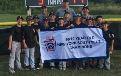 Tri-Village Little League 9/10 All-Stars head to Guilderland for state tournament