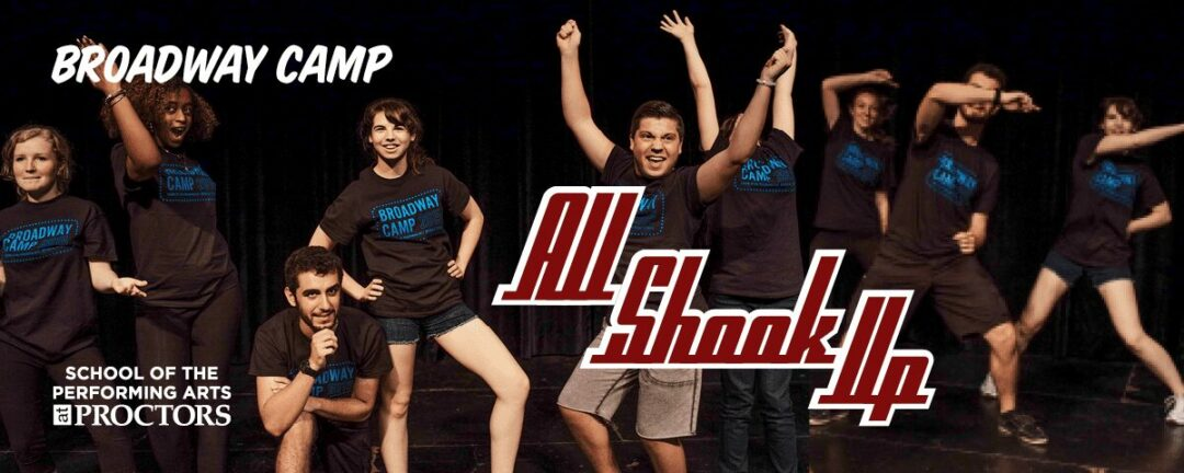 """""""All Shook Up   Proctors' summer Broadway camp students to stage full musical"""