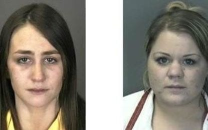 Two women plead guilty to attempted robbery in county court