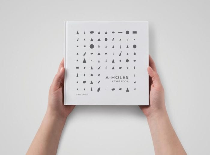 """A humorous eye on typography: Former professor pens book, """"A-Holes: A Type Book"""""""