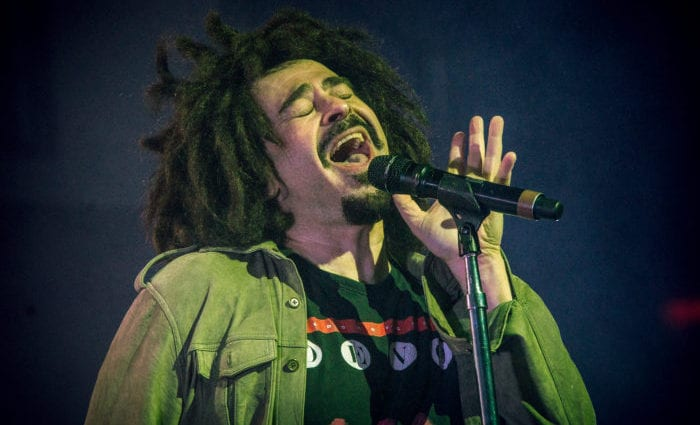 Going back with Counting Crows