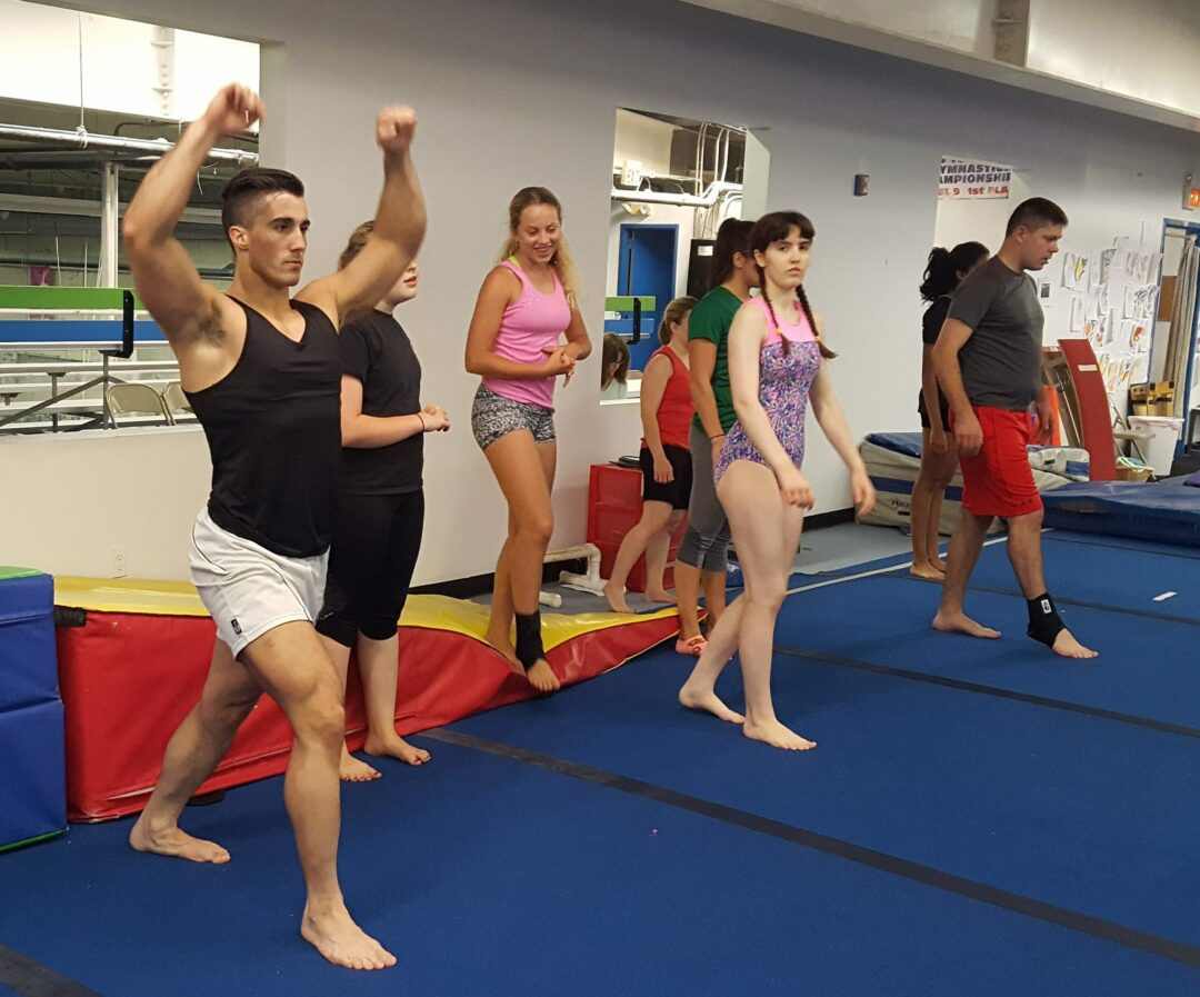 World Class Gymnastics' adult class gets ready for its annual fundraiser