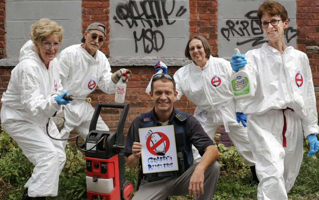 Graffiti Busters On Patrol