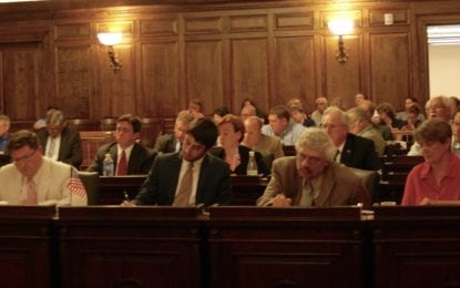 County legislature to vote on charter changes at August 8 meeting
