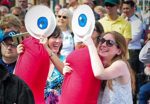 SPOTTED: Schenectady Smiles Pep Rally, Aug. 17
