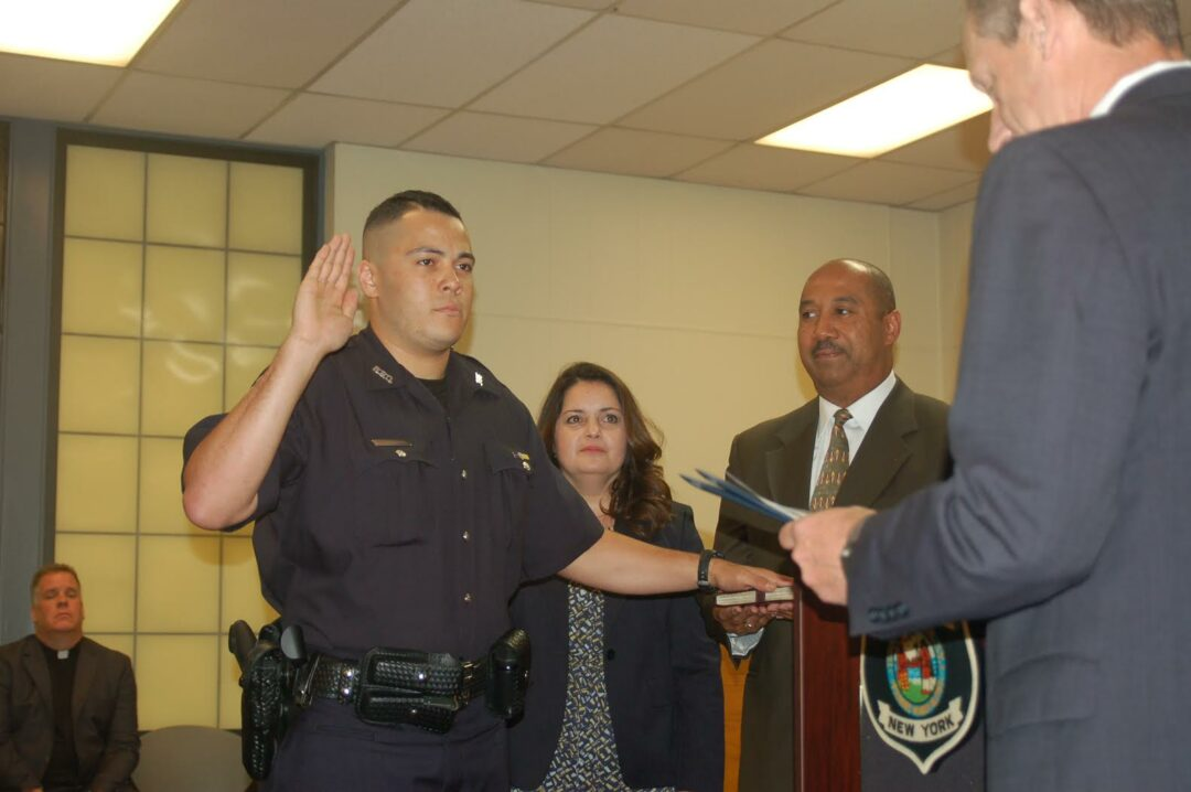 Bethlehem Police Dept. swears in two new officers, honors department members in double ceremony on Monday, Aug. 1