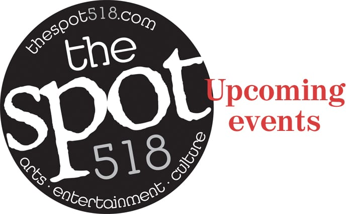 Music on The Spot 518 for Saturday, August 6