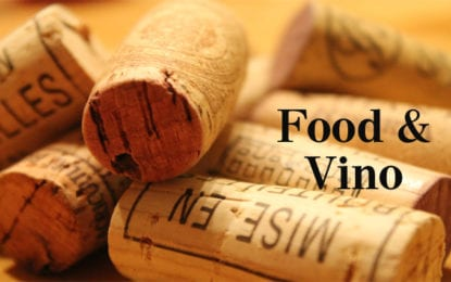 FOOD & VINO: Back on track