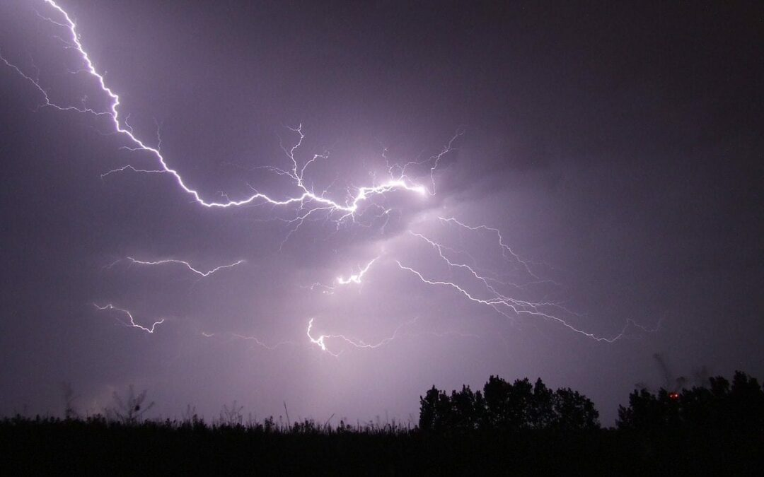 Police: Lightning touched off two house fires