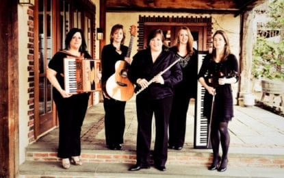 Cherish the Ladies will perform a holiday show at Troy Savings Bank Music Hall