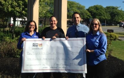 Local eatery celebrates customers, donate to cause