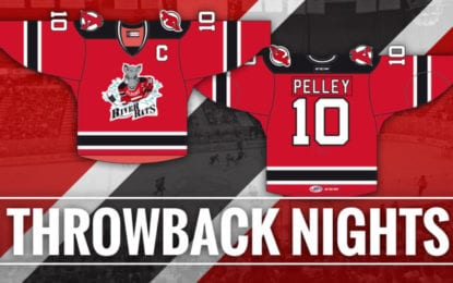 Albany Devils announce two 'Throwback Nights' featuring River Rats jerseys