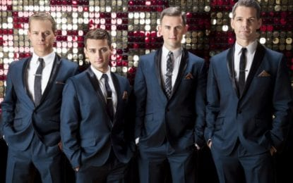 From Boys to Men: The 'Jersey Boys' are back as 'The Midtown Men,' and open a nationwide tour from Proctors this week