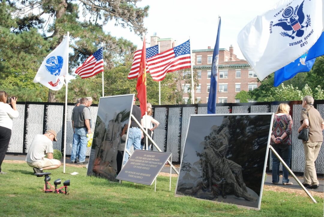 Traveling Vietnam Memorial in Washington Park commemorates 50th anniversary of the Vietnam War