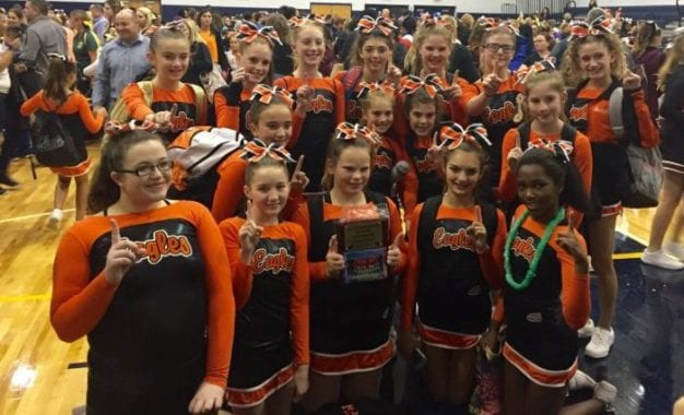 Bethlehem Pop Warner cheer team advances to Eastern Region Championships