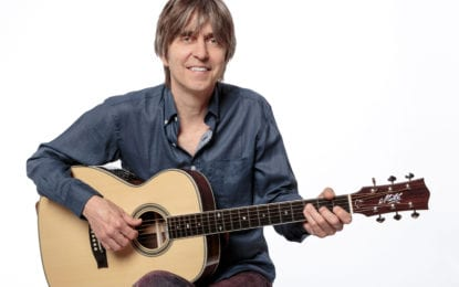 Guitar legend Eric Johnson is shifting gears
