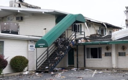 Colonie Police: Cocca's Travelodge Inn fire determined to be arson (updated Oct. 4, 11:25 a.m.)