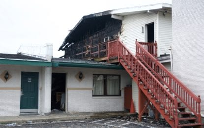 Fire damages Travelodge Inn on Route 9 in Latham