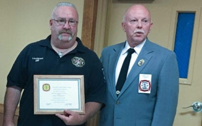 Michael Gervais named HMVFA's Fire Policeman of the Year