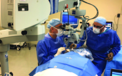 October feature: New option for curing cataracts