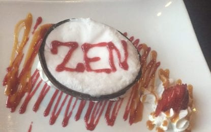 RESTAURANT REVIEW: A Moment of Zen