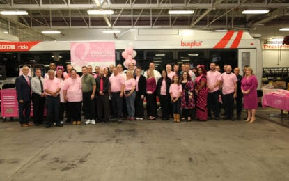CDTA is going pink for breast cancer awareness month