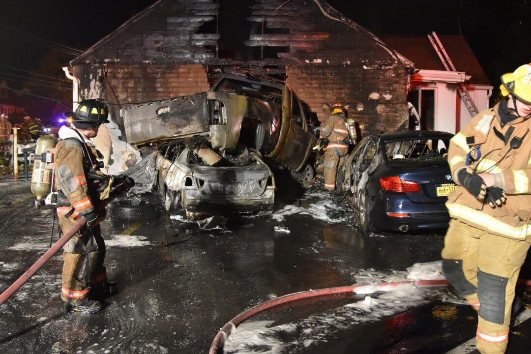 (UPDATE w/charges) Car crashes into Colonie tavern, bursts into flames